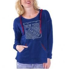 New York Rangers Dámska - Driftwood NHL Mikina s kapucňou