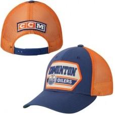 Edmonton Oilers - CCM Trucker NHL Čiapka
