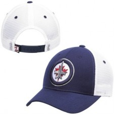 Winnipeg Jets - Basic Trucker Snapback NHL Čiapka
