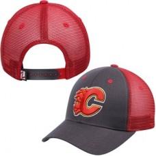 Calgary Flames - Basic Trucker Snapback NHL Čiapka
