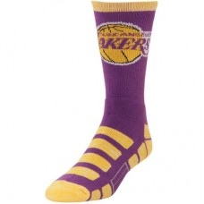 Los Angeles Lakers - For Bare Feet Patches NBA Ponožky