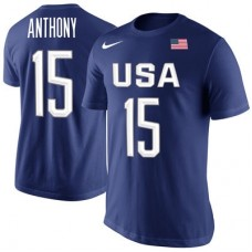 USA Basketball - Carmelo Anthony Rio NBA Tričko