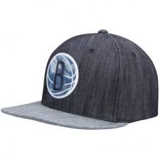 Brooklyn Nets - Linen Snapback NBA Čiapka