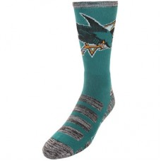 San Jose Sharks - For Bare Feet Patches NHL Ponožky