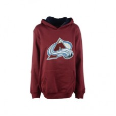 Colorado Avalanche Detská - Prime Logo LD NHL Mikina s kapucňou