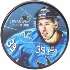San Jose Sharks - Logan Couture Player NHL Puk