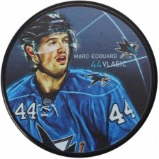 San Jose Sharks - Marc-Edouard Vlasic Player NHL Puk