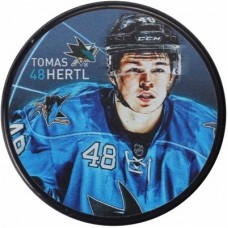 San Jose Sharks - Tomas Hertl Player NHL Puk