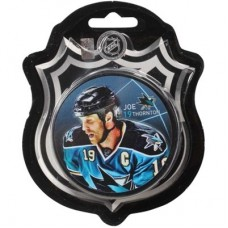 San Jose Sharks - Joe Thornton Carton NHL Puk