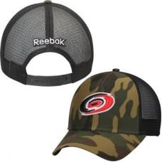 Carolina Hurricanes - Camo Trucker NHL Čiapka