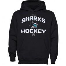 San Jose Sharks Detská - Locker Status NHL Mikina s kapucňou