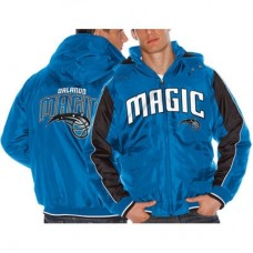 Orlando Magic - Poly Hooded Full Zip NBA Zimná Bunda