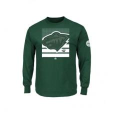 Minnesota Wild - Slashing LD NHL Tričko s dlhým rukávom