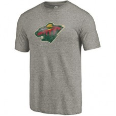 Minnesota Wild - Distressed Primary Logo NHL Tričko