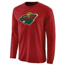 Minnesota Wild - Primary Logo NHL Tričko s dlhým rukávom