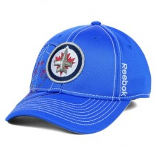 Winnipeg Jets - Draft Spin Flex LD NHL Čiapka