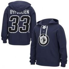 Winnipeg Jets - Dustin Byfuglien Lace Up NHL Mikina s kapucňou