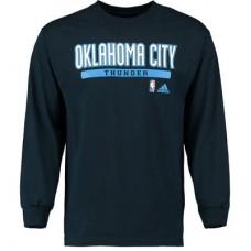 Oklahoma City Thunder - Cut and Paste NBA Tričko s dlhým rukávom