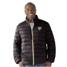 Pittsburgh Penguins - Carl Banks Packable Full-Zip NHL Bunda