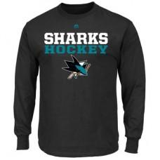 San Jose Sharks - Feel The Pressure NHL Tričko s dlhým rukávom