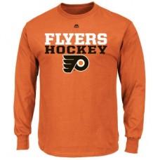 Philadelphia Flyers - Feel The Pressure NHL Tričko s dlhým rukávom