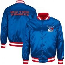 New York Rangers Detská - Genuine Satin NHL Bunda
