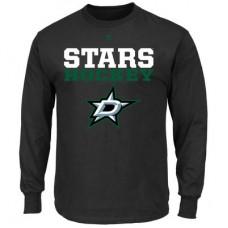Dallas Stars - Feel The Pressure NHL Tričko s dlhým rukávom