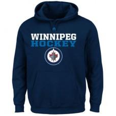 Winnipeg Jets - Feel The Pressure NHL Mikina s kapucňou