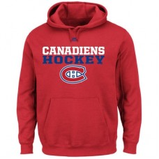 Montreal Canadiens - Feel The Pressure NHL Mikina s kapucňou
