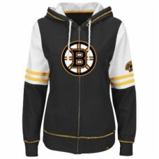 Boston Bruins Dámska - Turnbuckle Fleece Z NHL Mikina s kapucňou