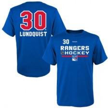New York Rangers detské - Henrik Lundqvist Center Ice Freeze NHL Tričko