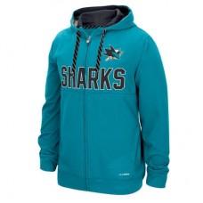 San Jose Sharks - Face-Off Full Zip NHL Mikina s kapucňou