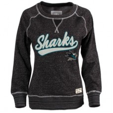 San Jose Sharks Dámska - Seneca Snow Fleece Crew NHL Mikina