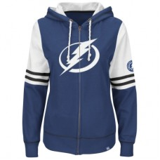 Tampa Bay Lightning Dámska - Turnbuckle Fleece Z NHL Mikina s kapucňou