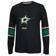 Dallas Stars - CCM Logo NHL Mikina