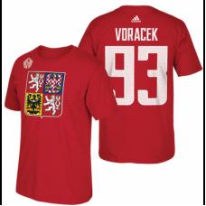 Česko - Jakub Voráček 2016 Svetový Pohár v Hokeji Tričko