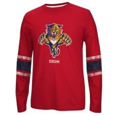 Florida Panthers - CCM Logo NHL Tričko s dlhým rukávom