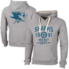 San Jose Sharks - Solace Slub V NHL Mikina s kapucňou