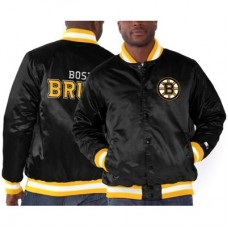 Boston Bruins - Starter Genuine Satin NHL Bunda