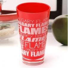 Calgary Flames - Plastic Color NHL Pohár
