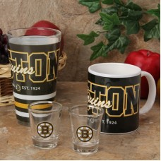 Boston Bruins - 4-Pack NHL Set Pohár