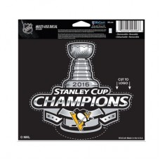 Pittsburgh Penguins - 2016 Stanley Cup Champions NHL nálepka