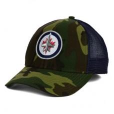 Winnipeg Jets - Camo Trucker LD NHL Čiapka