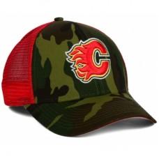 Calgary Flames - Camo Trucker LD NHL Čiapka