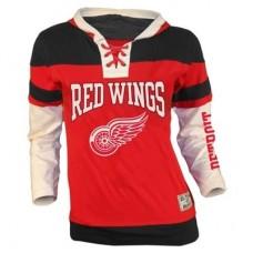 Detroit Red Wings Detska - Prospect Lace Fooler NHL Mikina s kapucňou