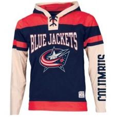 Columbus Blue Jackets  Detska - Prospect Lace Fooler NHL Mikina s kapucňou