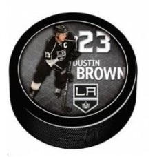 Los Angeles Kings - Dustin Brown Puck NHL nálepka na stenu