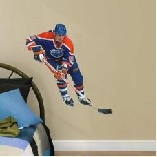 Edmonton Oilers - Wayne Gretzky NHL Nálepka na stenu