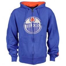 Edmonton Oilers - Conway Full Zip NHL Mikina s kapucňou