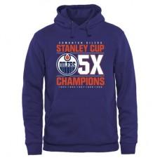 Edmonton Oilers - Victor Pullover NHL Mikina s kapucňou